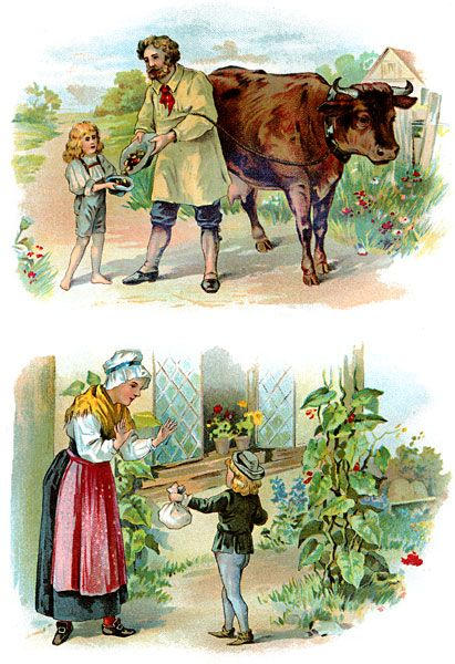 Famous Fairy Tales - Jack and the Beanstalk