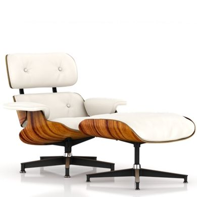 The iconic Eames chair.  Classic, beautiful and comfortable.