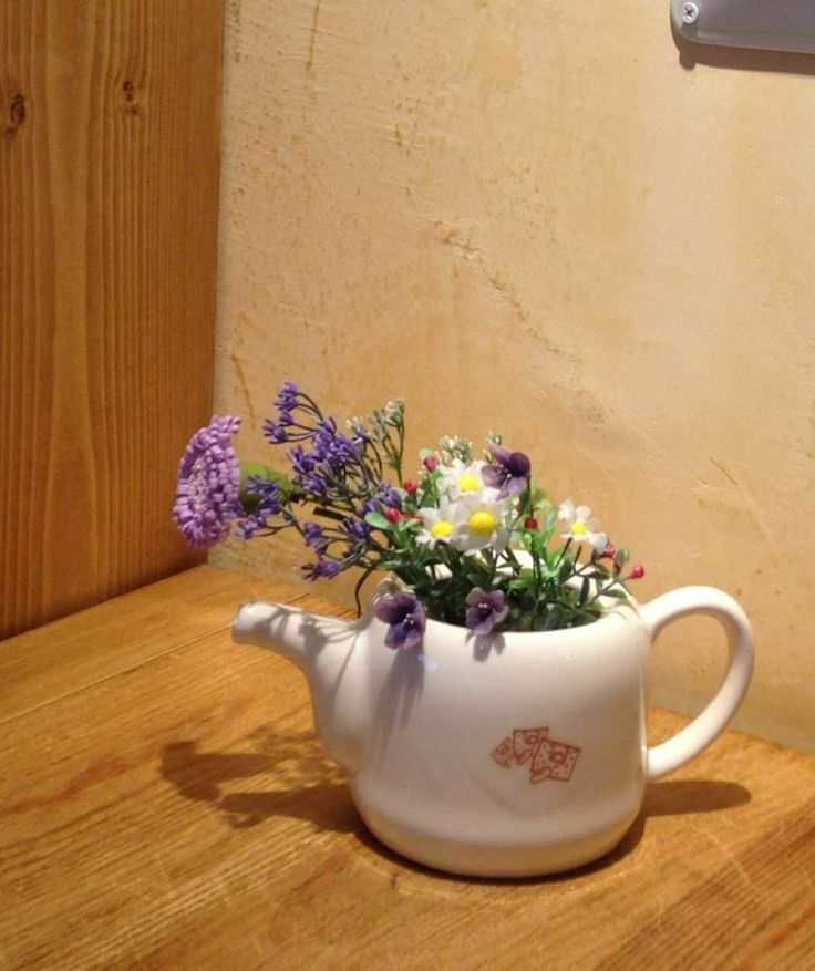 A tea pot? Or a flower pot? Why not both! Click to get yours.