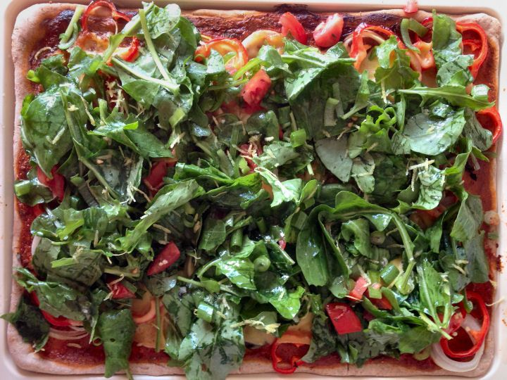 Recept Rucola pizza