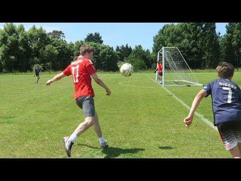 VMBS HERO SPORT BLOG MIGMAGING MG: EPIC FOOTBALL CHALLENGES vs MY BRO