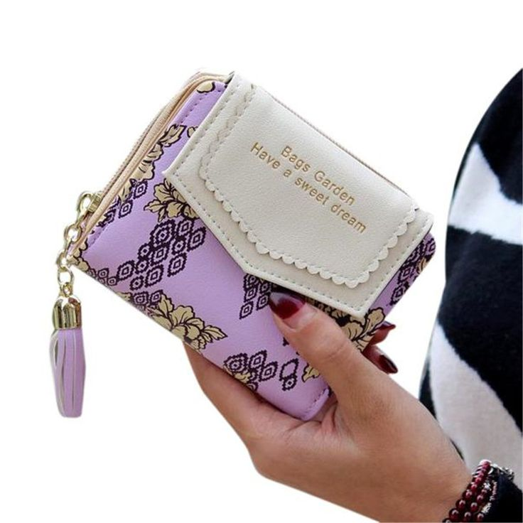 Ladies Clutch Wallet,Hemlock Women Pocket Wallet Credit Card Purse MIni Handbag (Purple). ➽100% brand new and high quality. ➽Material: Artificial leather. ➽Size: about 11.5*9.5*3.5cm/4.5*3.7*1.4inch. ➽As a perfect gift for yourself or your friends. ➽Expedited Shipping:Usually arrived at you in 4-9 days.