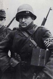 Hungarian arrow cross soldier