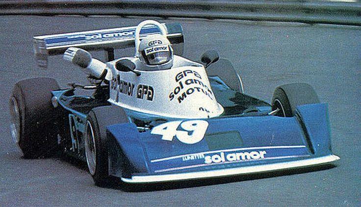 José Dolhem, o meio-irmão de Didier Pironi, andou de AGS nos primórdios da marca na Fórmula 2