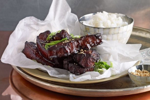 A little planning and imagination can go a long way with this budget-friendly hoisin pork ribs meal.