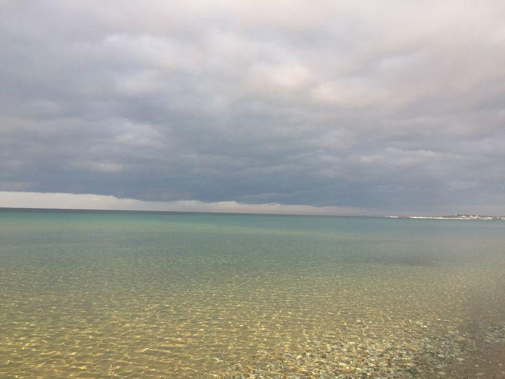 Morning at Kassandra Mare Beach