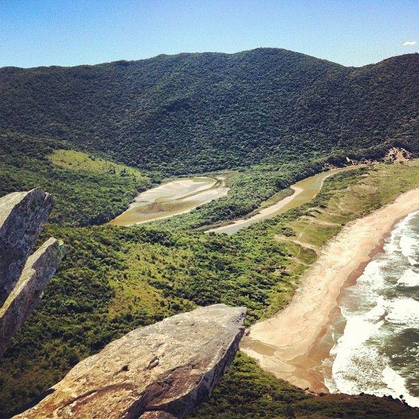 Praia Lagoinha do Leste en Florianópolis, SC