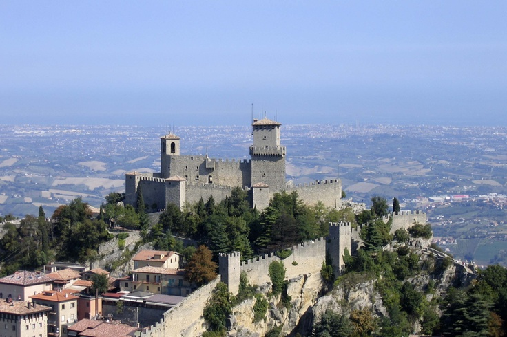 Vista aerea della seconda Torre   #San Marino