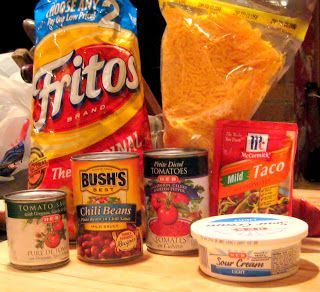 """All That Her Hands Have Done"": Pride comes before.. a broken oven- Baked Frito Pie & Blender Beans"