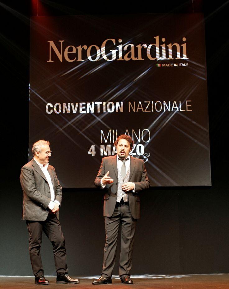 Enrico Bracalente e #EnricoBrignano #stileitaliano #NeroGiardini