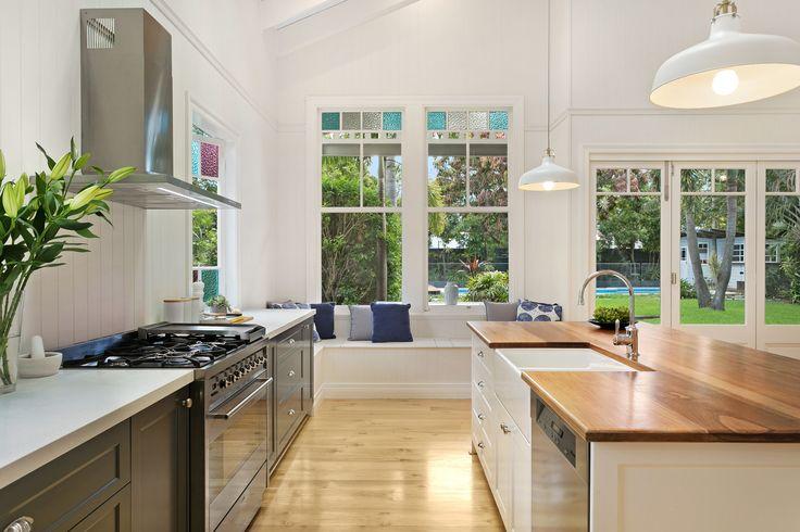 küche farben ideen weiße küchenzeile wandfarbe magnolia aprikose - ikea küchen landhaus