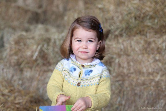 New photo of Princess Charlotte ahead of her second birthday • The Crown Chronicles May 2, 2017