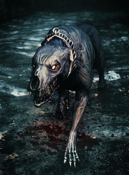 Death Hound: personally I think this is one of the coolest editions that came with Dawnguard. These things are B.A