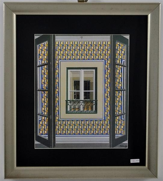 Window . by #portuguese painter Maluda