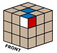Rubrik's cube solution