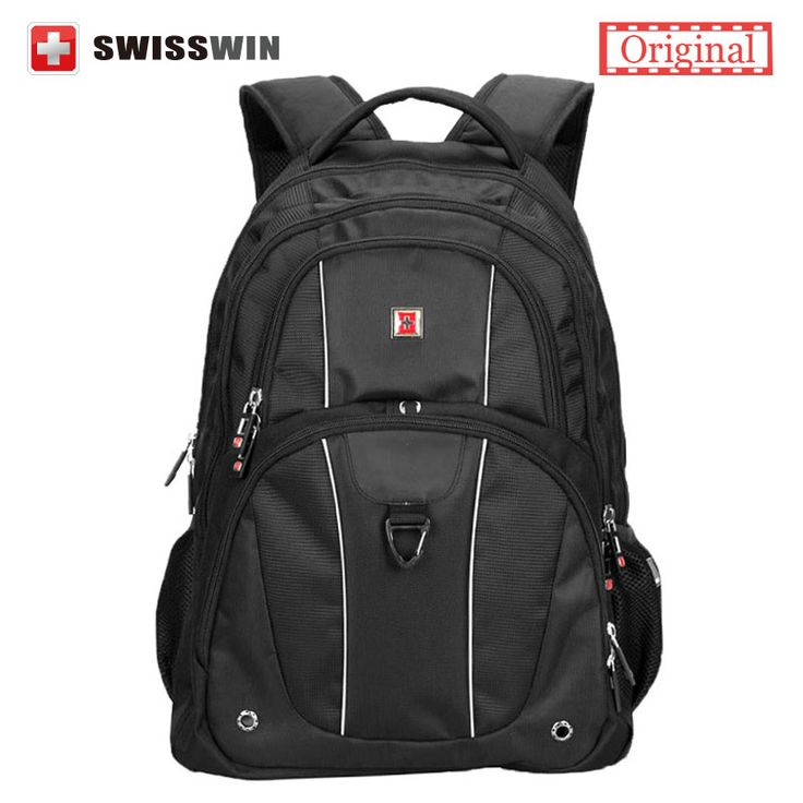 Swisswin Men's Backpack Swissgear 15.6' Laptop Backpack Male Large Capacity Travel Backpack for Computer mochila masculina
