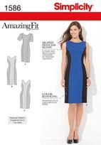 Misses' and Plus Size Amazing Fit Dress