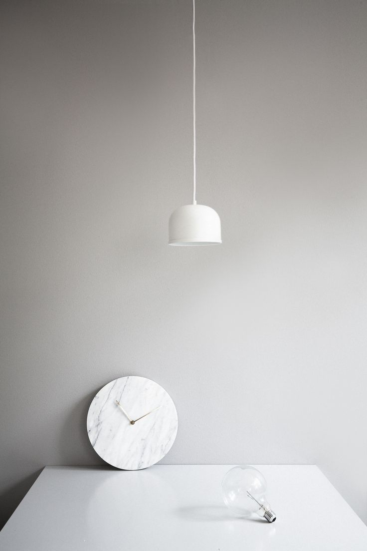 MENU, Marble Wall Clock By Norm Architects