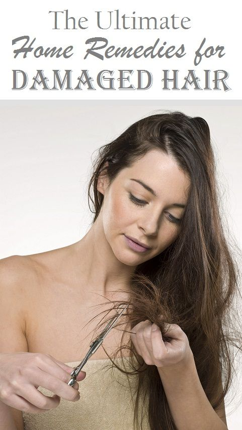9 Best Home Remedies for Damaged Hair.