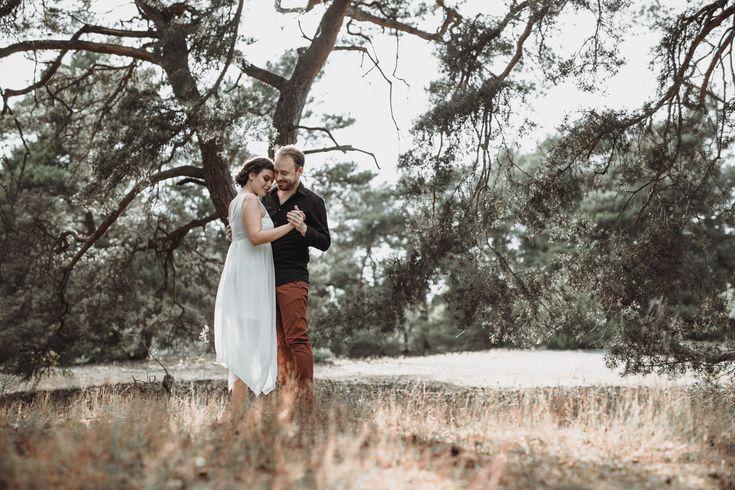 Hochzeitsfotos, Vintagewedding, Boho Wedding, Sunset, Weddingdress, Flowercrown