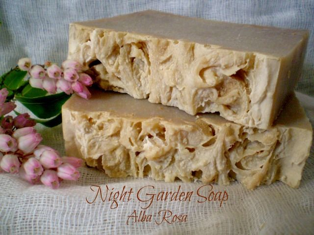 Night Garden Soap  - Alba Rosa