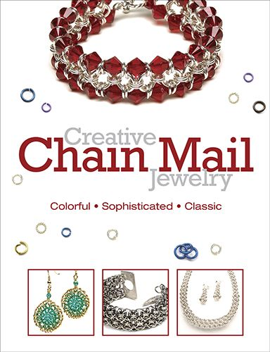 Free Chainmail Patterns Chain Maille | Book Review - Creative Chain Mail Jewelry - The Beading Gem's Journal