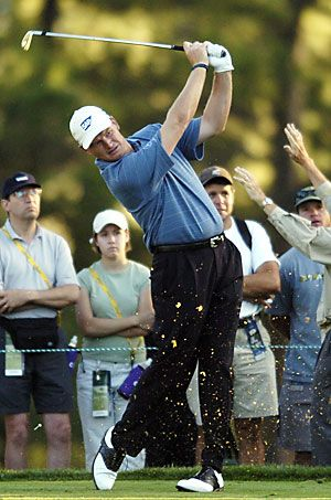Ernie Els, a former World No. 1 golfer. Among his 66 career victories, he is one of only six golfers to twice win both the U.S. Open and The Open Championship.