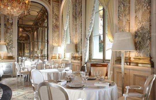 Restaurant Le Meurice.