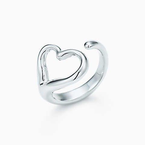 Elsa Peretti Bean ring in sterling silver, mini - Size 5 1/2 Tiffany & Co.
