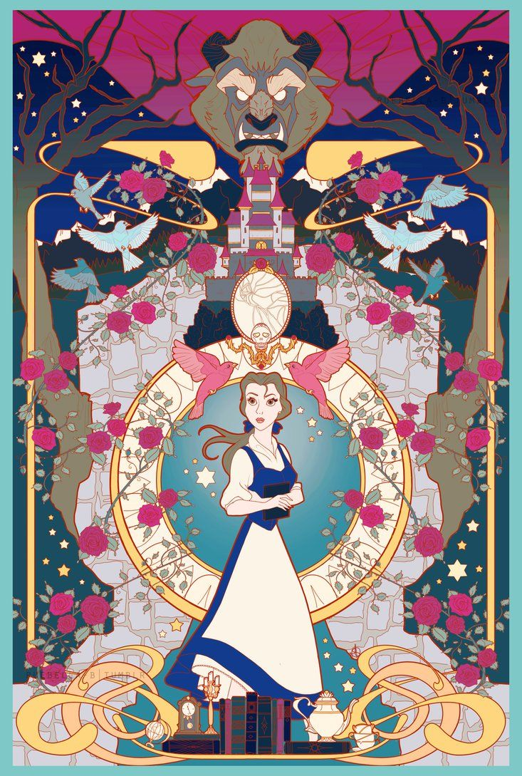 beauty and the beast by ruebella-b.deviantart.com on @DeviantArt- CLS