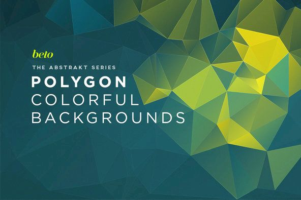 Polygon Abstract Backgrounds  03 By beto on YouWorkForThem.