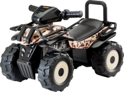 Your kiddo can tool around the yard and look for Easter eggs in the Cabela's Tan Camo Ride-On ATV.