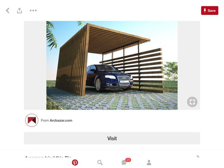 Einzelcarports Carceffo Moderne Carports Garagen Carport