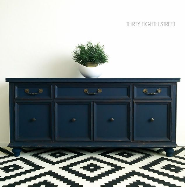 Create the look of custom furniture by adding feet! A simple tutorial on how to add legs to furniture!