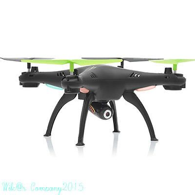 Drone Quadcopter 4GB Gyro RC Camera RTF 4ch Remote Helicopter 3 Battery Full Set