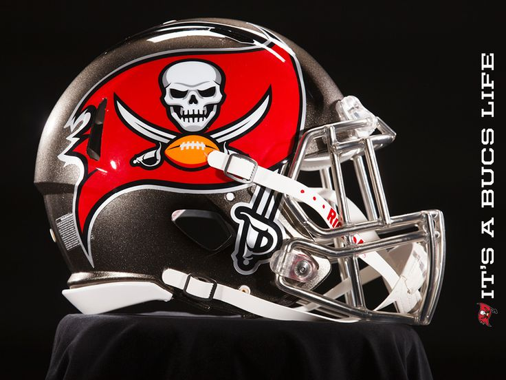 Go Bucs! Tampa Bay Buccaneers Reveal Newly Designed Helmets