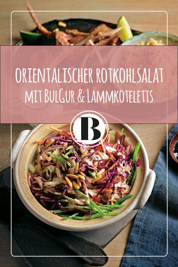 Mit diesem vollwertigen Hauptgericht macht ihr eure Gäste glücklich! Denn zum deftigen Lammkotelett gibt es knackigen Salat mit orientalischer Note.