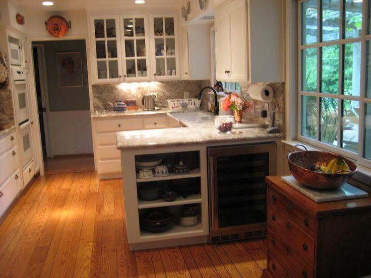 Kitchen Peninsula Designs Renovation