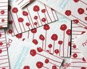 Papaveri rossi carte telefoniche-set di 50