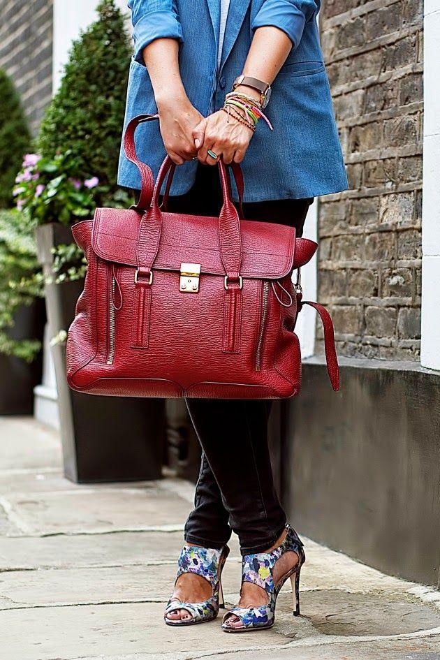 red 3.1 Phillip Lim Pashli handbag