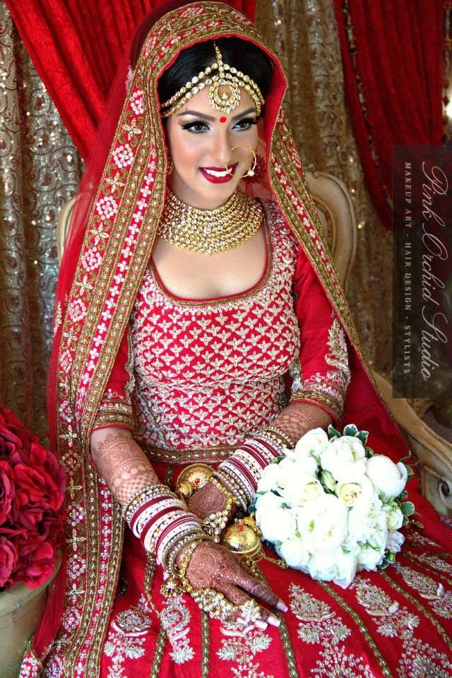 Indian bride.                                                                                                                                                      More