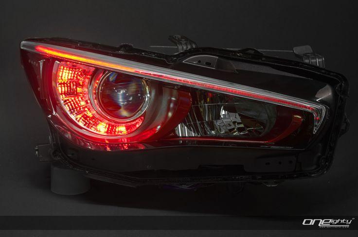 https://flic.kr/p/gTvcwZ | Infiniti Q50 Custom Headlights | Worlds First: Infiniti Q50 Custom Headlights by ONEighty