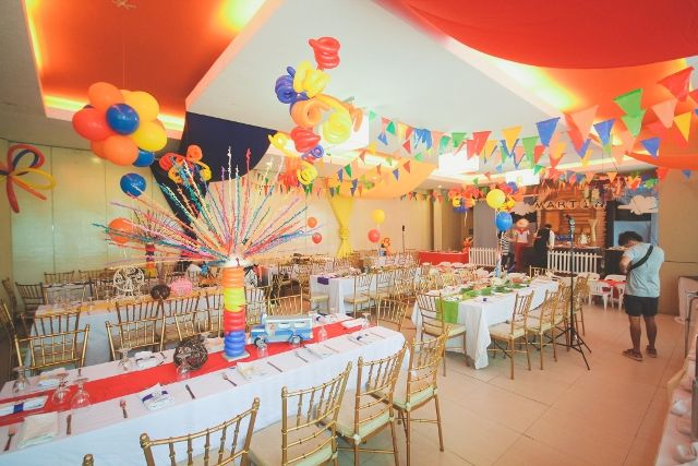 Martins Philippine Fiesta Themed Party Table
