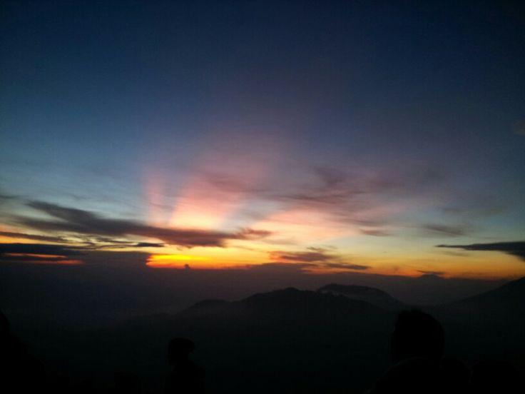 Beautiful.. Taken from bukit sikunir, dieng plateu, central java, indonesia