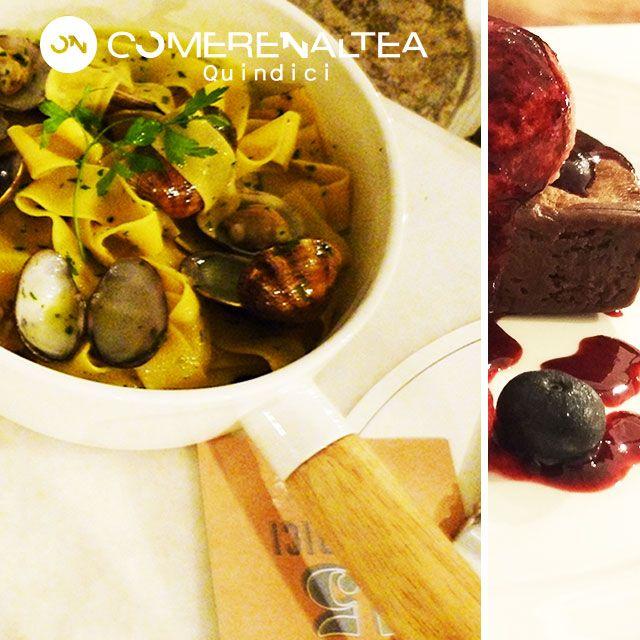Sabrosos Tagliatelle Vongole | Quindici | Cap Negret | #Altea #restaurante #mediterraneo #comer_en_altea #pizzería