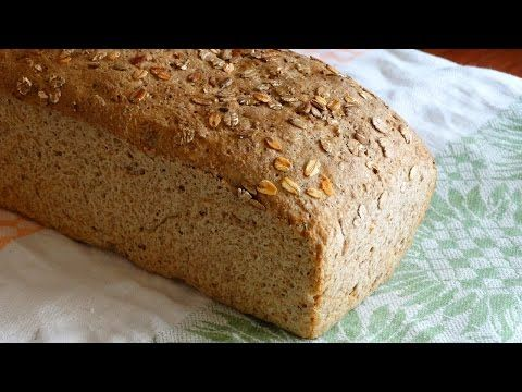 Chleb pszenno-żytni na drożdżach - YouTube