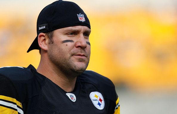 current pittsburgh steelers roster   Ben Roethlisberger #7 of the Pittsburgh Steelers watches his team warm ...
