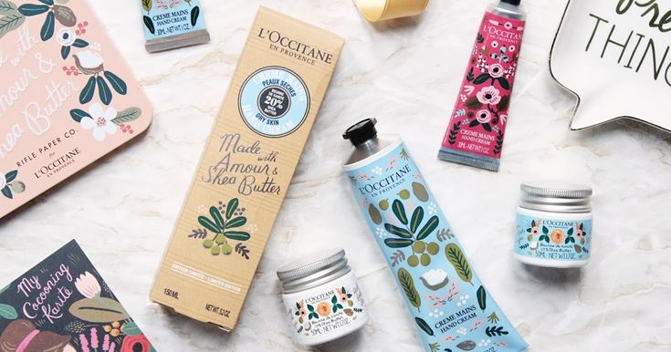 L'Occitane x Rifle Paper Co.   ||  L'Occitane x Rifle Paper Co., Limited Edition, Shea Butter, Hand Creams, Gift Set, Review, Hannah Heartss, UK Beauty Blog, Rifle Paper, Stataionery, Body Care, http://www.hannahheartss.co.uk/2018/02/loccitane-x-rifle-paper-co.html?utm_campaign=crowdfire&utm_content=crowdfire&utm_medium=social&utm_source=pinterest