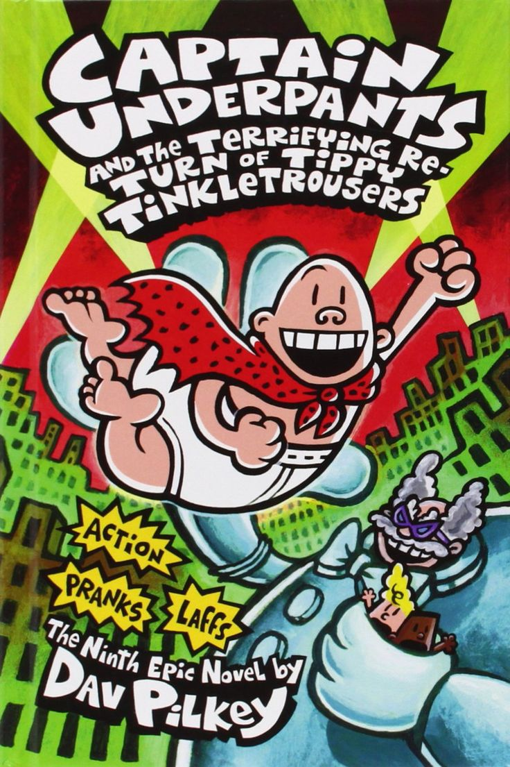 Captain Underpants And The Terrifying Return Of Tippy Tinkletrousers  Price:$773