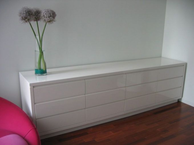 Hand Crafted White Lacquer Dresserks Furniture And Design Inside